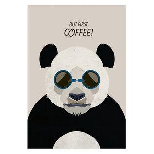 di012 | Daria Ivanovna | Panda - Postkarte A6