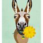 di015 | Daria Ivanovna | Esel - Postkarte A6