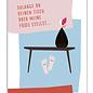 fzpa059 | Pastellica | Solange du deinen Tisch... - Postkarte A6
