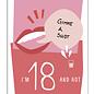 fzpa060 | Pastellica | Girl 18 - Postkarte A6