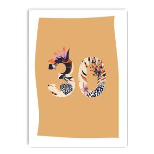 fzpa065   Pastellica   30 Woman - Postcard A6