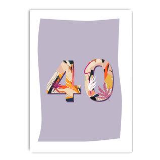 fzpa066 | Pastellica | 40 Woman - Postkarte A6