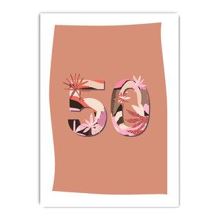 fzpa067   Pastellica   50 Woman - Postkarte A6