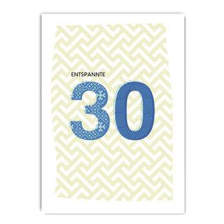 fzpa069 | Pastellica | 30 Man - Postkarte A6