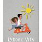 fzgc060 | Gray-Code | La Dolce Vita - Postkarte  A6