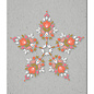 fzgc062 | Gray-Code | Grafikflower Kaleidoskop - Postkarte  A6