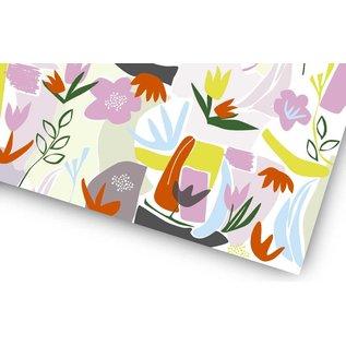 fzgp031   Geschenkpapier   Flower Grafic