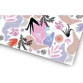 fzgp033 | Gift Paper | Purple Grafic