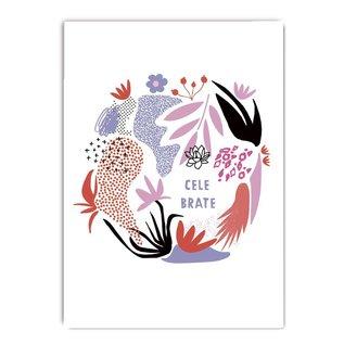 fzcb001 | Celebrate | Celebrate - Postkarte A6
