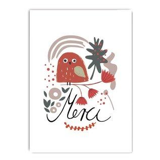 fzcb006 | Celebrate | Merci - Postkarte A6