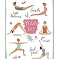 Make your day fzmd004 | Make your Day | Yoga Day - Postkarte A6