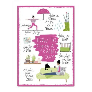 Make your day fzmd009 | Make your Day |  Rainy Day - Postcard A6
