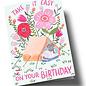 ar312 | Anke Rega | Take it easy on your Birthday - double card C6