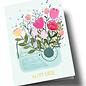 ar313 | Anke Rega | Flower Radio - double card C6