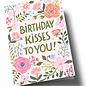 ar314 | Anke Rega | Birthday Kisses to you - double card C6