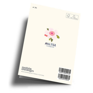 ar316 | Anke Rega | Ice Cream - double card C6
