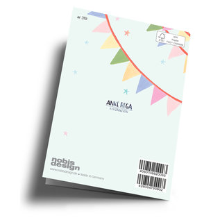 ar319 | Anke Rega | Welcome little one - double card C6