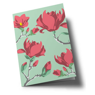 ha341   happiness   Bougainville - Drillingsblume - double card