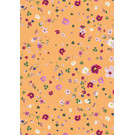 mi707 | m-illu | Flowers orange - wrapping paper