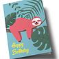 ha344 | happiness | Sloth - double card