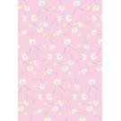mi708 | m-illu | Pink Daisies - wrapping paper