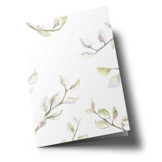 tg049 | Tabea Güttner | Thoughts - folding card  B6