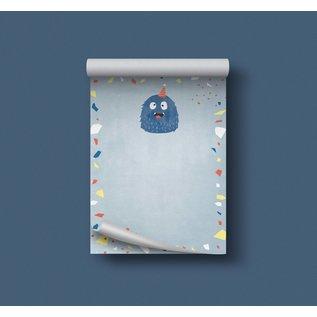df500 | Designfräulein| Monster blau - Schreibblock A6