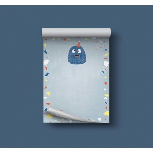 df500 | Designfräulein| Monster blue - notepad A6