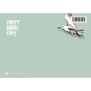 il0282 | illi | Fino - Happy Birthday - postcard A6