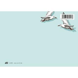 il0283   illi   Fino and Miro - postcard A6