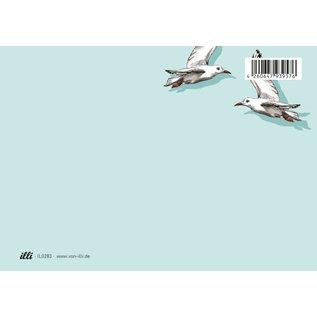 il0283 | illi | Fino und Miro - Postarte A6