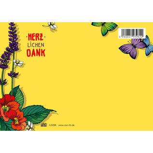 il0288   illi   Laluta -Herzlichen Dank - postcard A6