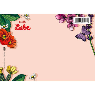 il0289 | illi | Laluta Alles Liebe - postcard A6