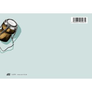 il0293 | illi | Twyllo 2 - postcard  A6