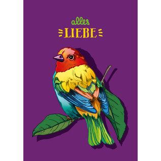 il0294 | illi | Loha Alles Liebe - Postkarte A6