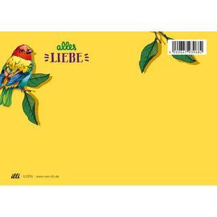 il0294 | illi | Loha Alles Liebe - postcard  A6