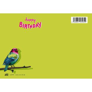 il0295   illi   Kairo Happy Birthday - Postkarte A6