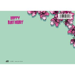il0300 | illi | Sofi Happy Birthday - postcard  A6