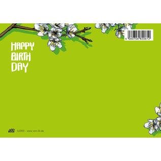 il0303 | illi | Tabini Happy Birthday - postcard  A6