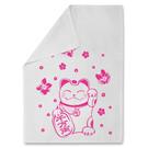Tea Towel tt002 | tea towel | Waving Cat