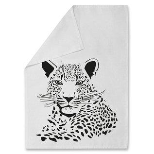 Tea Towel tt005 | tea towel | Leopard