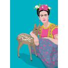 ma800 | Modern Art | Mexican with Bambi | ArtPrint DIN A4