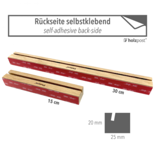 hp006 | oak card bar | 30 cm | blank