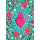 ha039 | happiness | Flower Frame Heart