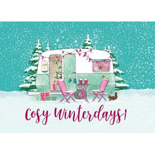 mix218 | m-illu | Cosy Winterdays - Postkarte A6