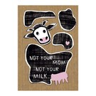 Care About fzca010 | Care About | Not your mom - wood pulp cardboard A6