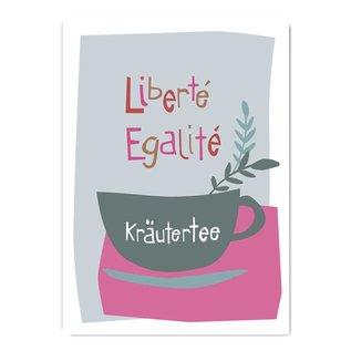 fzpa073   Pastellica   Liberte, Egalite - Postkarte A6