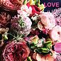 Libelle li008   Libelle   Love - Postkarte quadratisch