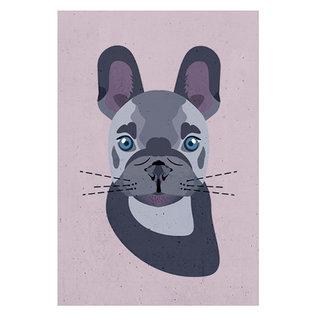 di018 | Daria Ivanovna | Bulldogge - Postkarte A6