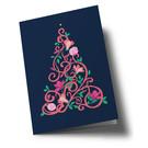 hax302 | happiness | Christmas Tree - Klappkarte